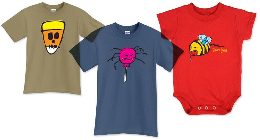 halloweenie tee shirts