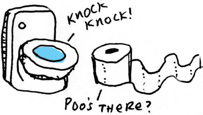 turning me straight - potty jokes