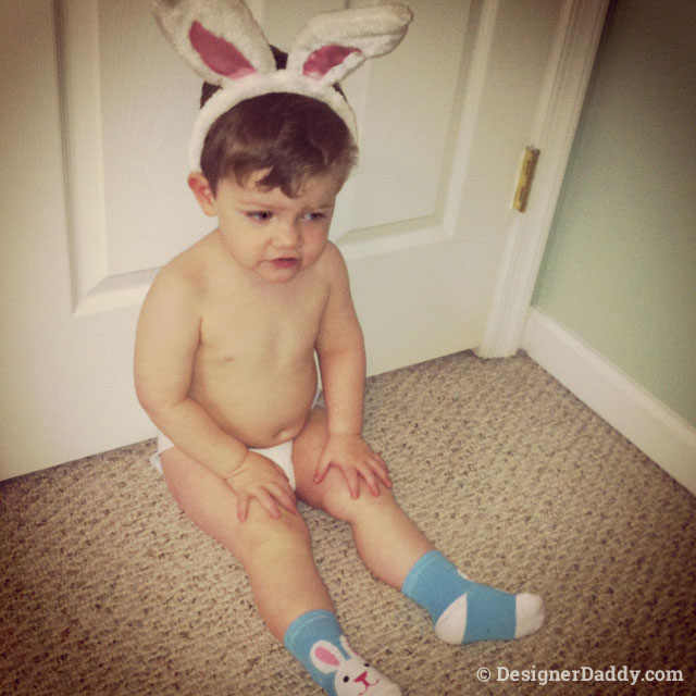 throwback easter bunny