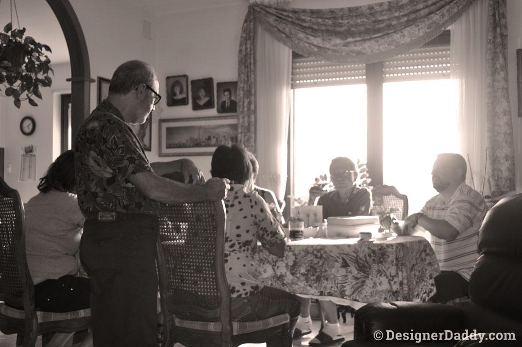 Barilla #ShareTheTable Italy family dinner