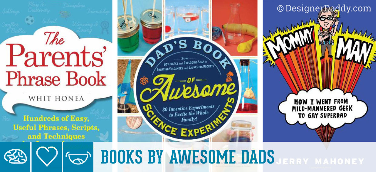 Father's Day Gift Guide & GIveaway - books by Mike Adamick, Whit Honea & Jerry Mahoney