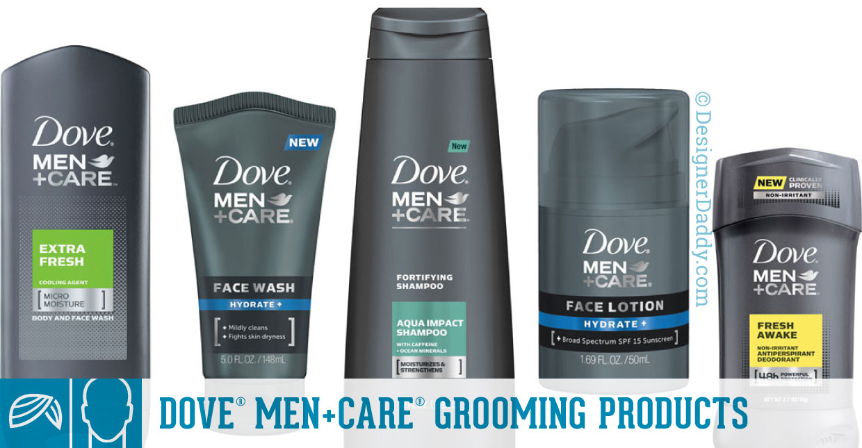 Father's Day Gift Guide & GIveaway - Dove Men+Care Products