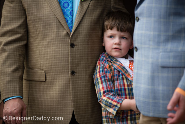 gay wedding - son and dads