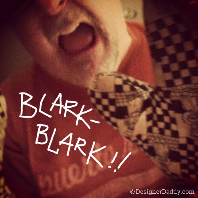 blark blark - power rangers - dad