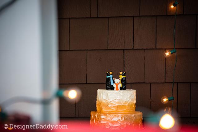 gay wedding - cake