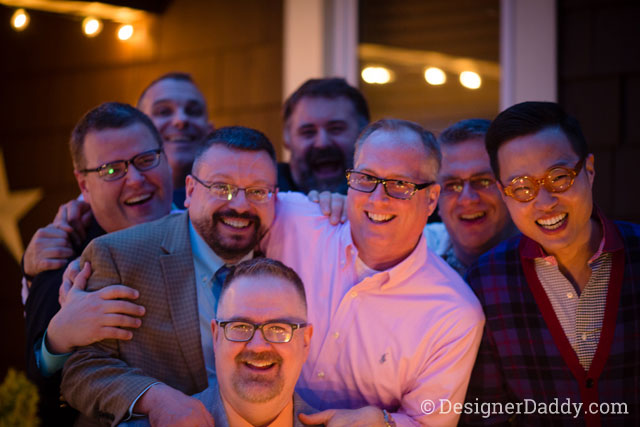 gay wedding - best friends