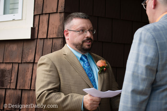 gay wedding - vows