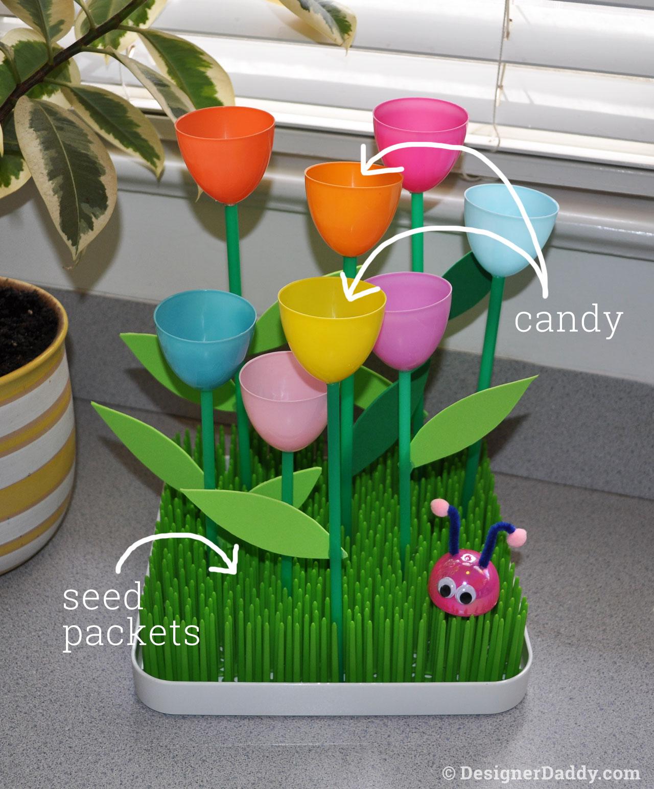 Mother's Day Crafts: Tulip Garden 5