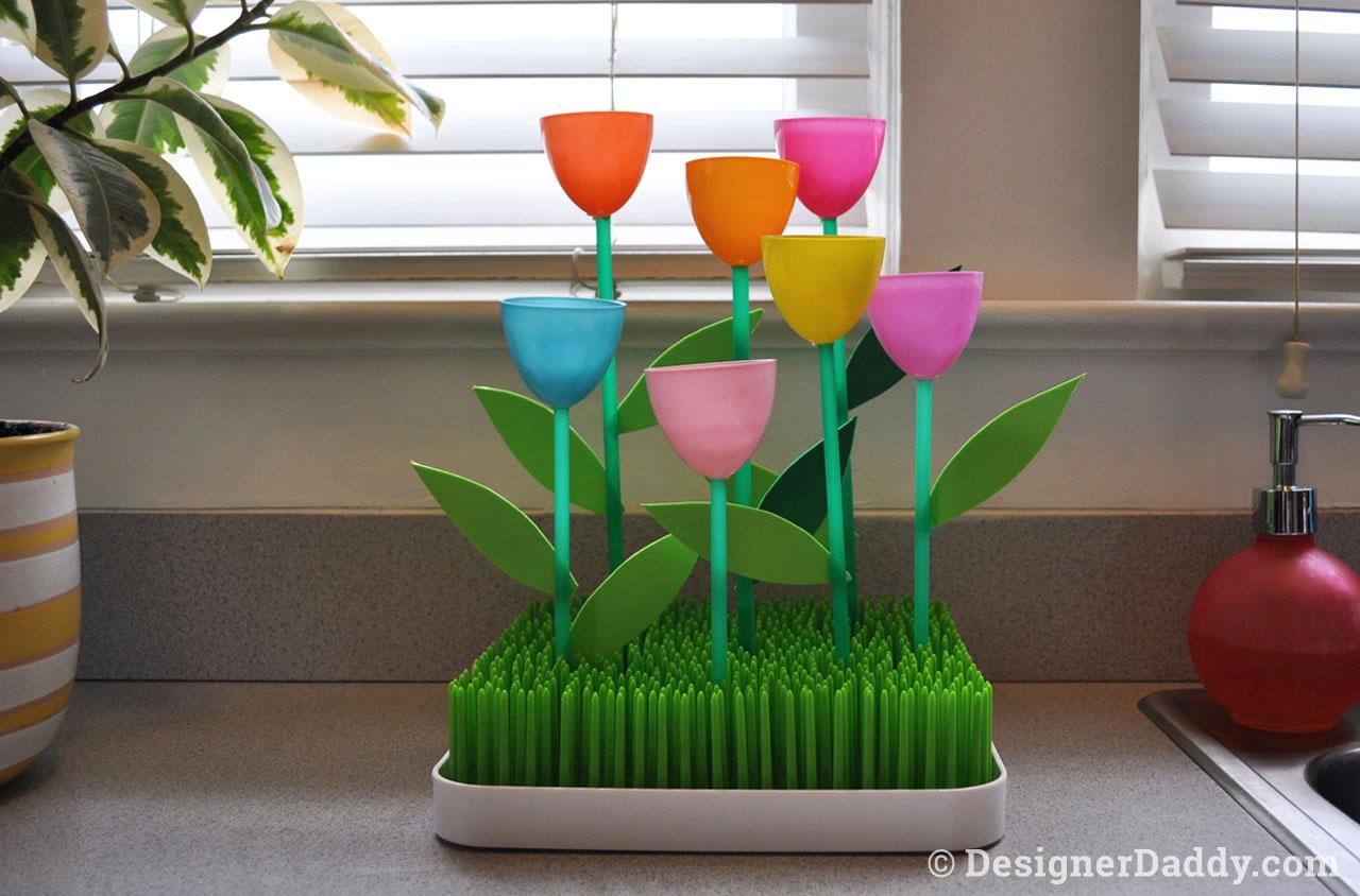 Mother's Day Crafts: Tulip Garden 4