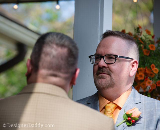 gay wedding - ceremony
