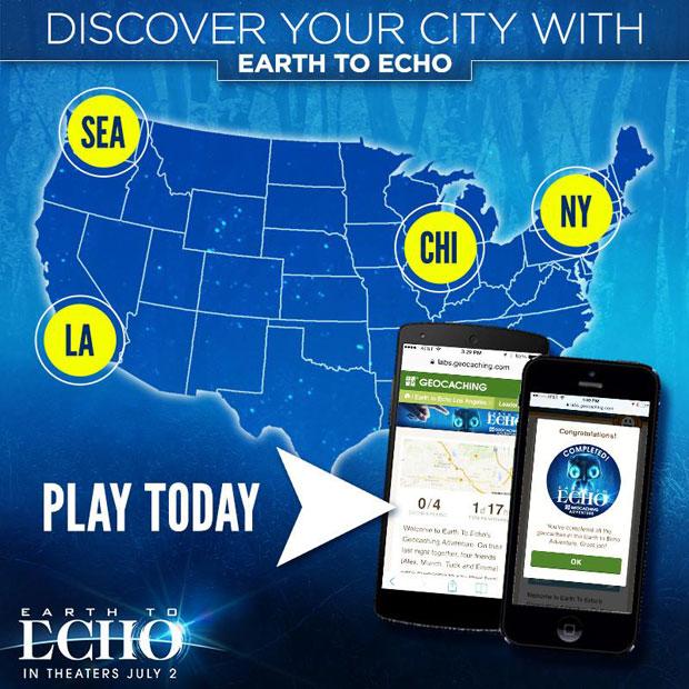 Earth to Echo - Geocache