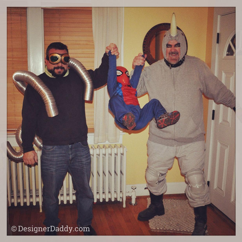 Designer Daddy & family, Halloween adventures!