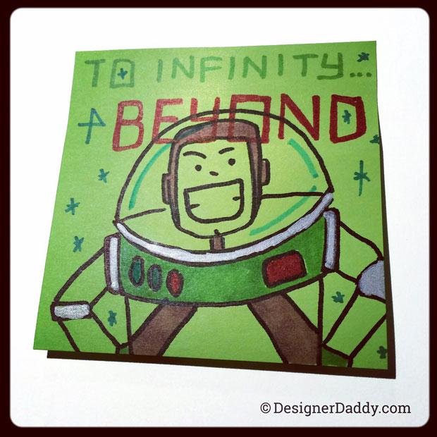 superlunchnotes Buzz Lightyear