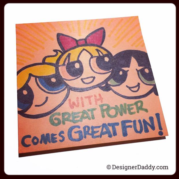 superlunchnotes - powerpuff girls