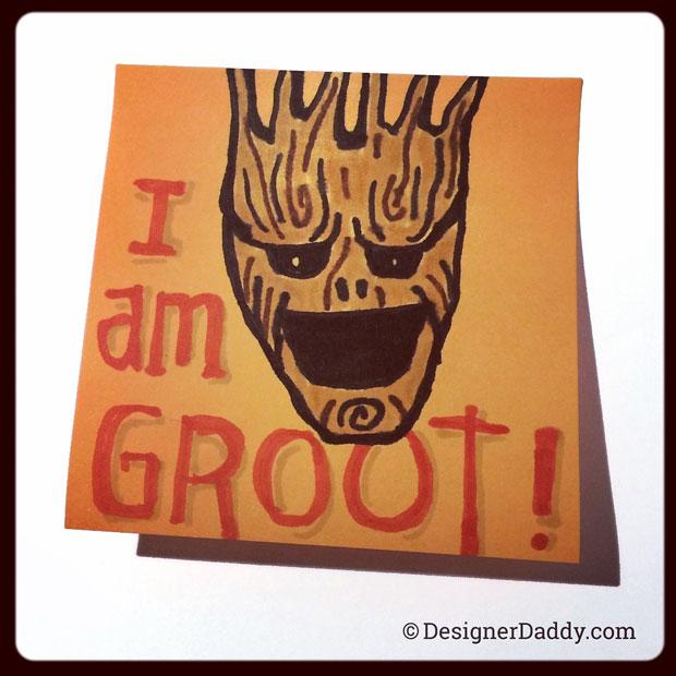 SuperLunchNotes Groot - Designer Daddy