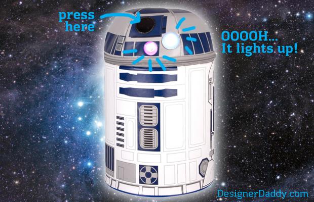 Designer Daddy - DooDad of the Day - R2D2 Lunchbox