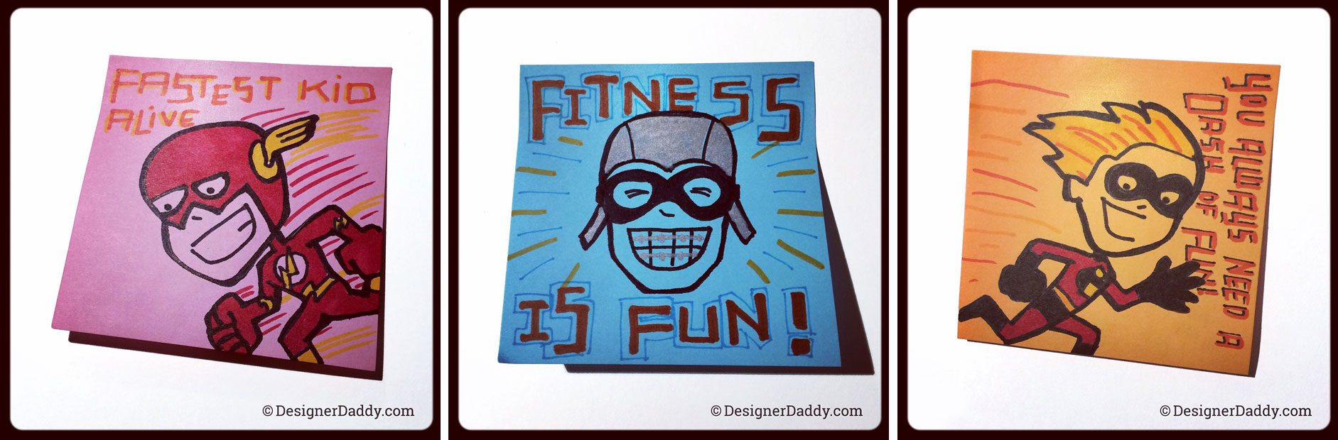 SuperLunchNotes Speed Week - Designer Daddy
