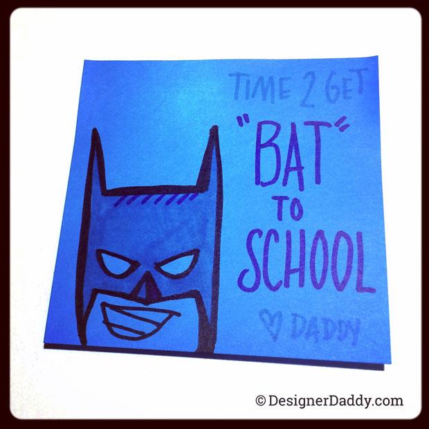Designer Daddy Batman