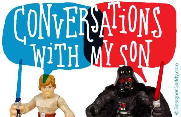 Conversations With My Son: When Will I Get New Parents?
