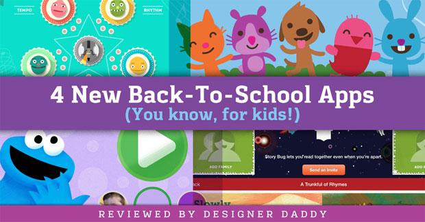 4 new apps for kids - Designer Daddy