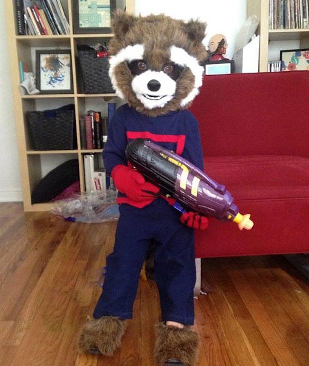 Halloween costumes - Rocket Raccoon - Guardians of the Galaxy