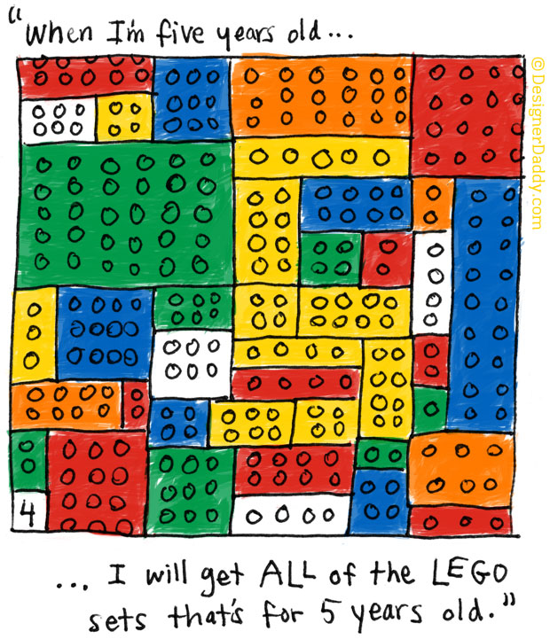 When I'm Five Years Old - LEGO