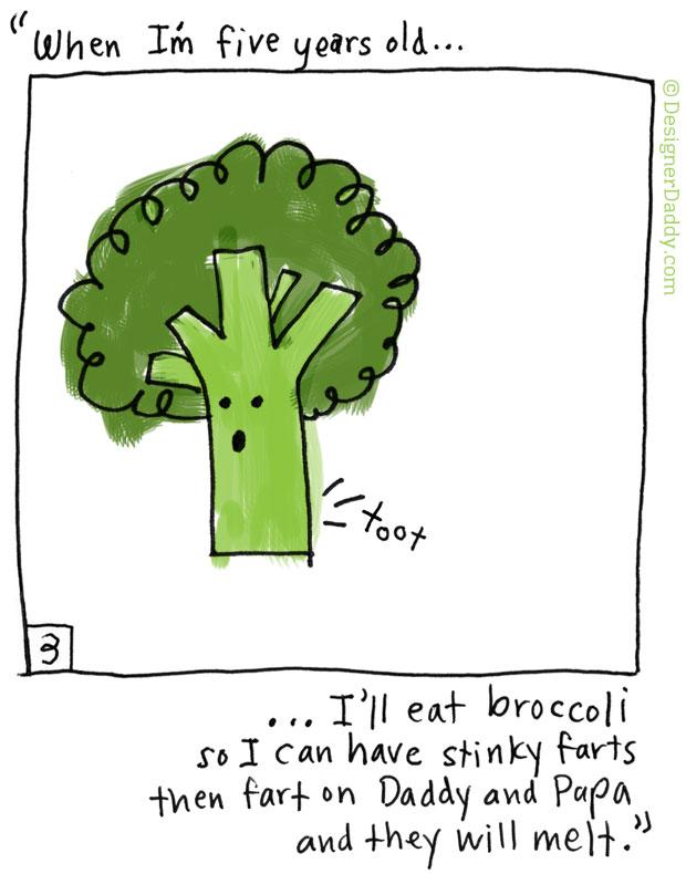 When I'm Five Years Old - Brocolli