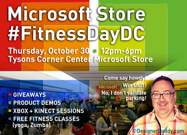 Microsoft Store #FitnessDayDC