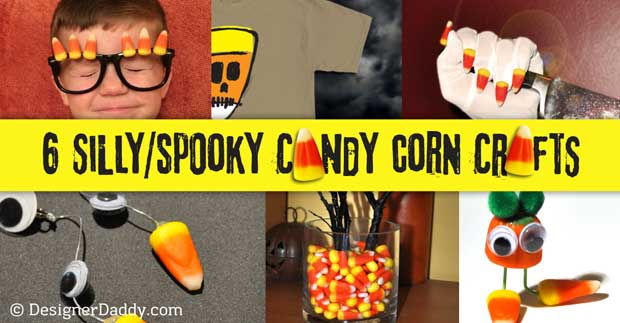 Candy Corn Crafts for Halloween