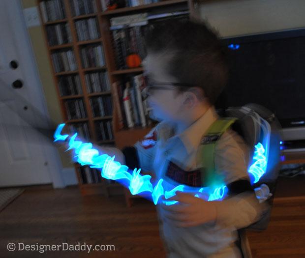 DIY Ghostbusters Halloween costume