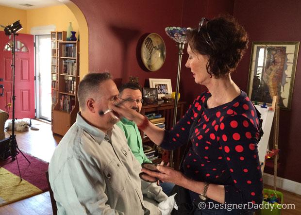 PBS Kids interview makeup