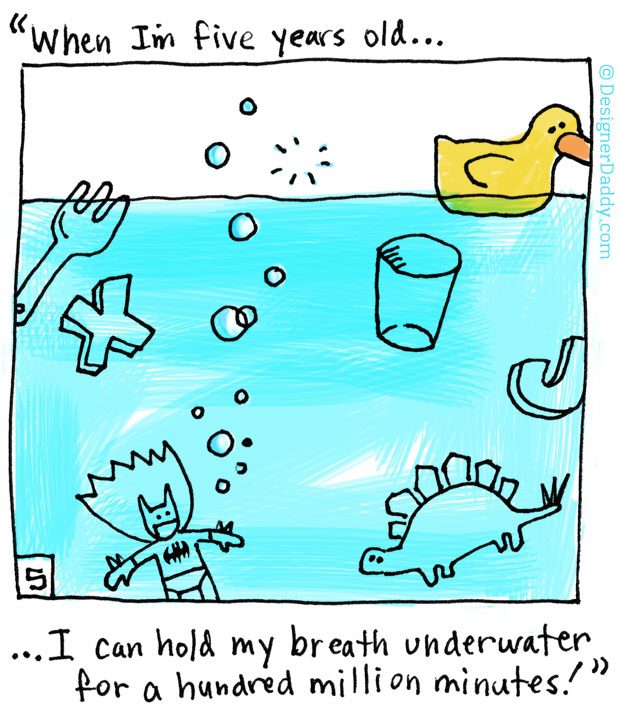 When I'm Five Years Old - Underwater