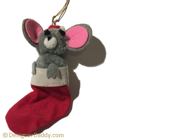 designer daddy - christmas ornament