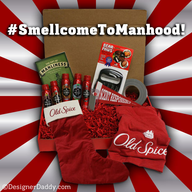 Old Spice #SmellcomeToManhood