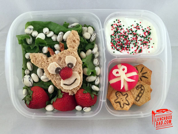 Rudolph's Magical Holiday Giveaway lunch
