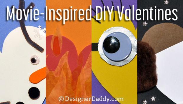 movie-inspired DIY valentines