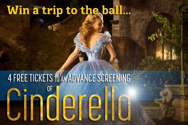 giveaway disney cinderella movie fandango