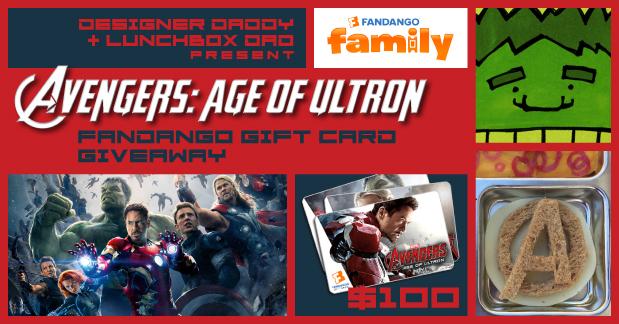 Avengers Fandango Giveaway
