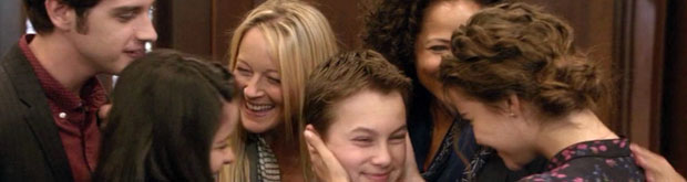 non-traditional family - the fosters