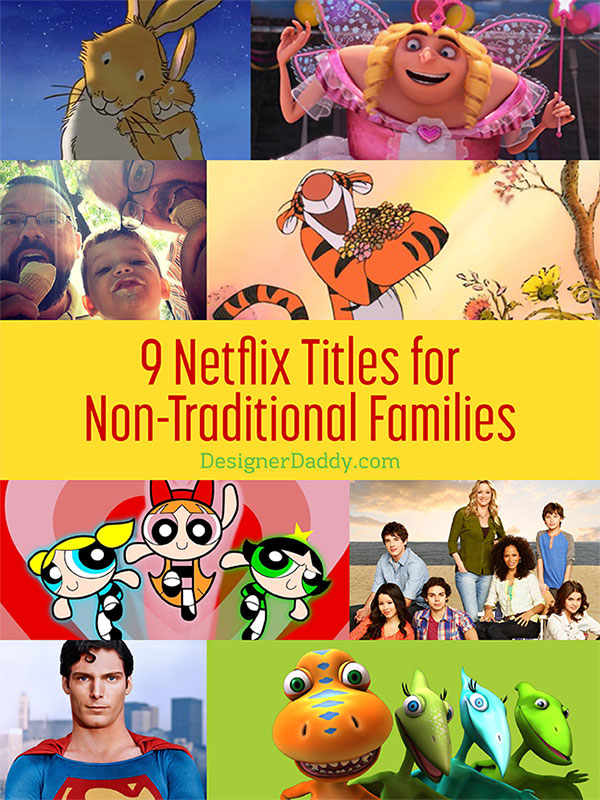 netflix titles for non-traditional families