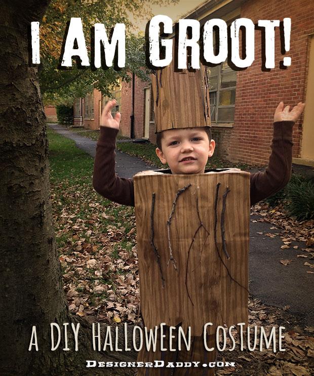 DIY Groot Halloween Costume