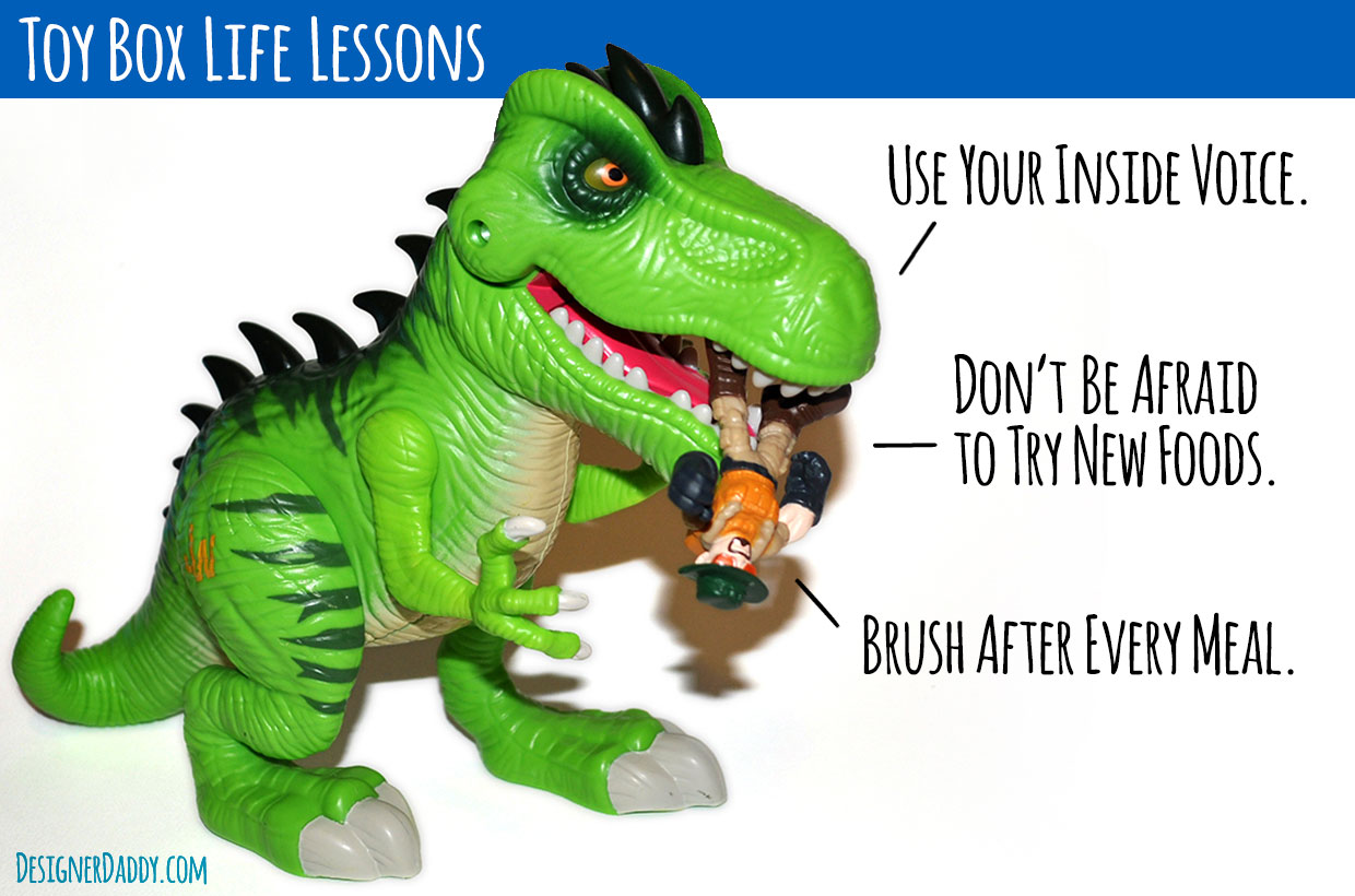 Toy Box Life Lessons from Hasbro & Playskool