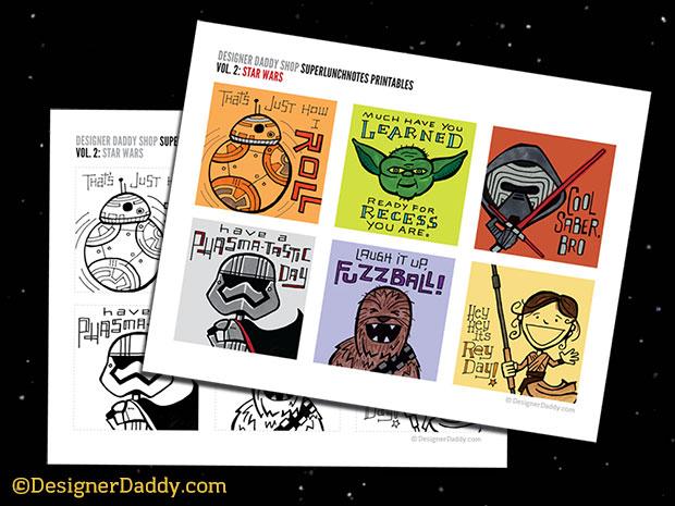 Star Wars: The Force Awakens SuperLunchNotes