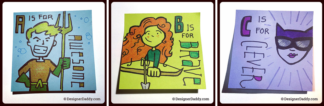 superlunchnotes a-to-z