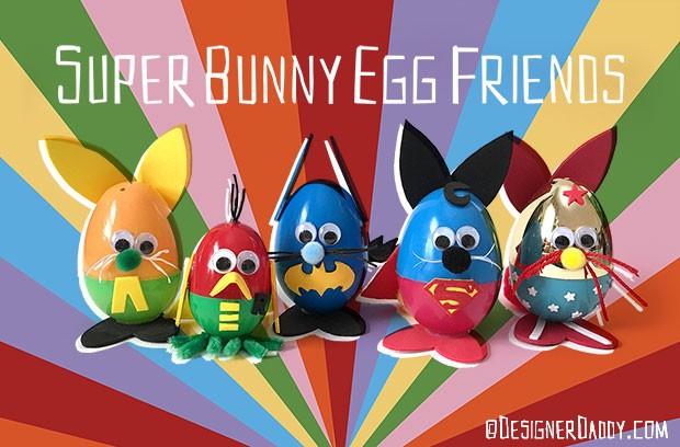 Superhero Easter Craft