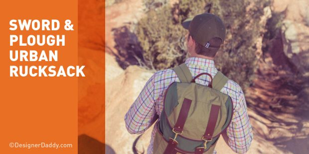 Father's Day Gift Guide & GIveaway - Sword & Plough Rucksack