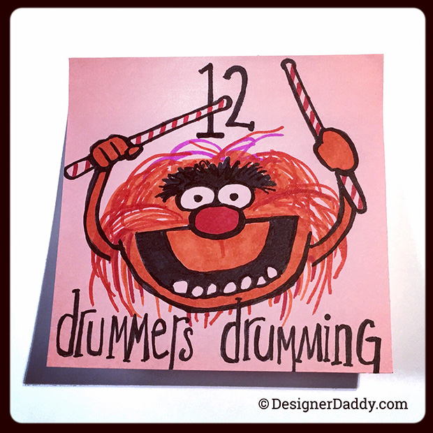 12 days of christmas muppets