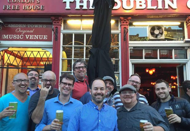 Dads4Kesem at the Dublin Castle pub, Camden Town, London