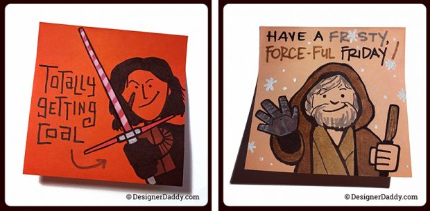 December SuperLunchNotes Star Wars: The Last Jedi