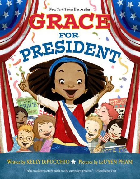 summer reading - Grace for President